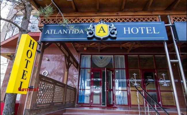 Отель «Атлантида» город Анапа