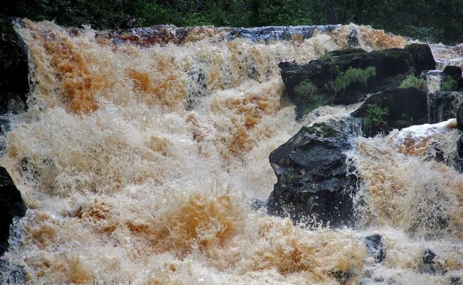 В поисках водопада