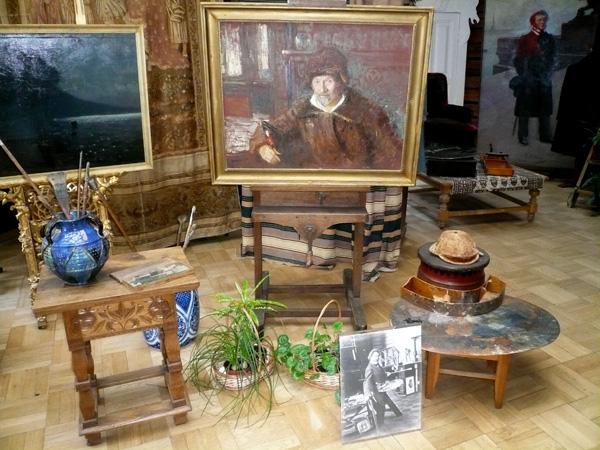Музей усадьба И Е Репина ''Пенаты''