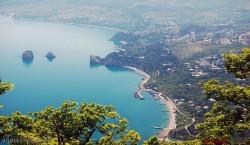 Городские пляжи Гурзуфа
