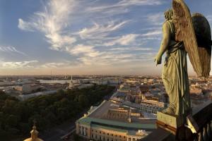 Видео обзор с высоты Исаакиевского собора